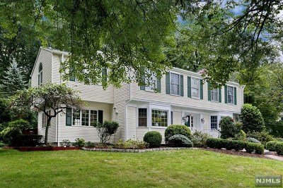 Woodcliff Lake Single Family Home For Sale: 25 Shield Drive