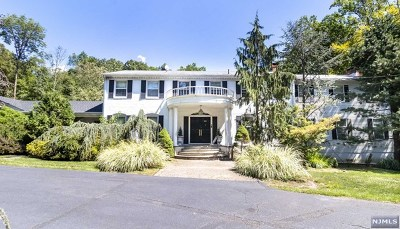 Saddle River Single Family Home For Sale: 80 Chestnut Ridge Road