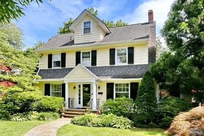 Glen Rock Single Family Home For Sale: 37 Emerson Road