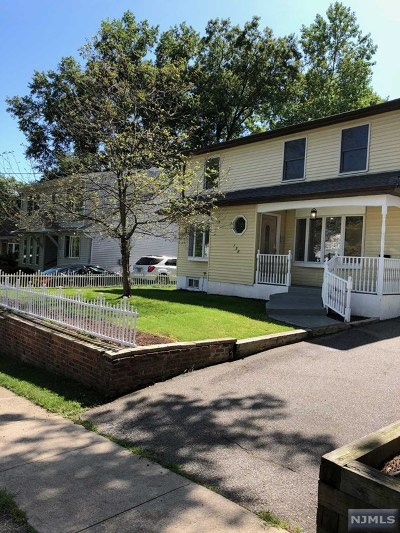 Waldwick Single Family Home For Sale: 138 Bergen Avenue