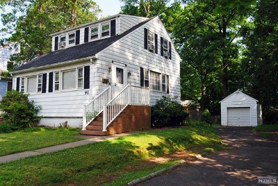 Tenafly Single Family Home For Sale: 91 Columbus Drive