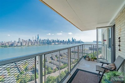Hudson County Condo/Townhouse For Sale: 6600 Boulevard East #16d