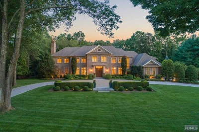 Saddle River NJ Single Family Home For Sale: $5,500,000