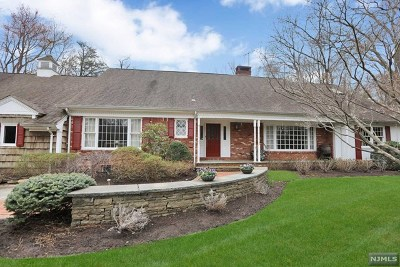 Saddle River Single Family Home For Sale: 19 Elden Drive