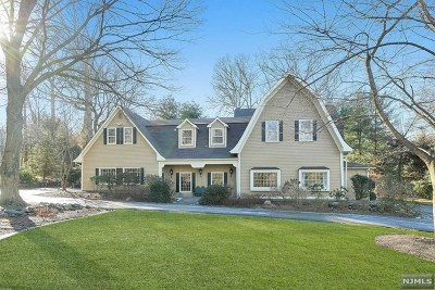 Saddle River Single Family Home For Sale: 12 West Church Road