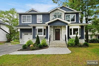 Bergen County Single Family Home For Sale: 19 Palm Street