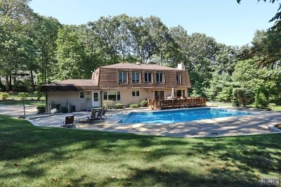 Montvale Single Family Home For Sale: 9 Crestview Terrace