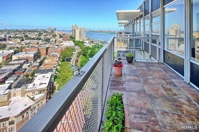 Hudson County Condo/Townhouse For Sale: 6050 Boulevard East #Ph23f