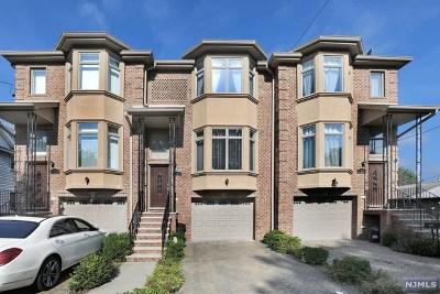 Cliffside Park Condo/Townhouse For Sale: 727 Jefferson Avenue