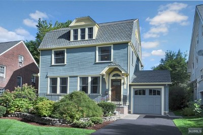 Essex County Single Family Home For Sale: 169 Summit Avenue