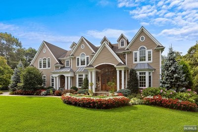 Franklin Lakes NJ Single Family Home For Sale: $2,695,000