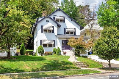 Essex County Single Family Home For Sale: 254 North Mountain Avenue