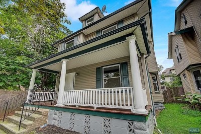 Essex County Single Family Home For Sale: 206 Baldwin Terrace