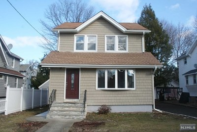Teaneck Single Family Home Under Contract: 147 Degraw Avenue