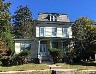 Closter Single Family Home Under Contract: 343 Demarest Avenue