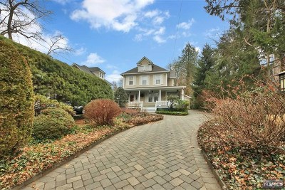 Tenafly Single Family Home Under Contract: 72 Magnolia Avenue