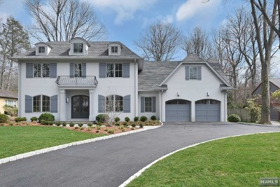Tenafly Single Family Home Under Contract: 34 Brook Road