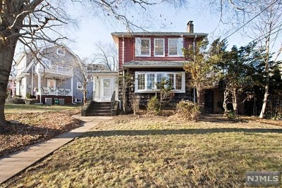 Bergen County Single Family Home Under Contract: 227 Berkshire Road