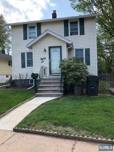 Bergenfield Single Family Home Under Contract: 86 School Street
