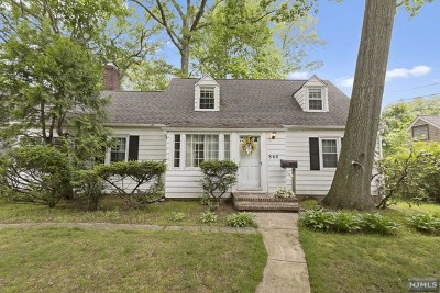 Oradell Single Family Home Under Contract: 860 Oradell Avenue