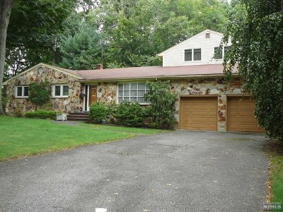 Bergen County Single Family Home Under Contract: 610 Sargent Road