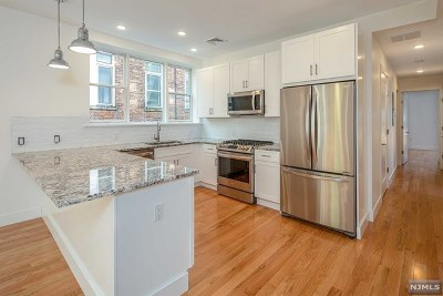 Hudson County Condo/Townhouse Under Contract: 57 Hudson Place #1