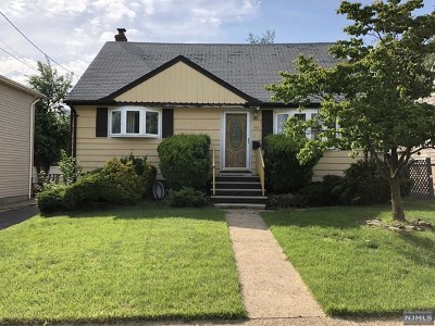 Hackensack Single Family Home Under Contract: 185 Poor Street