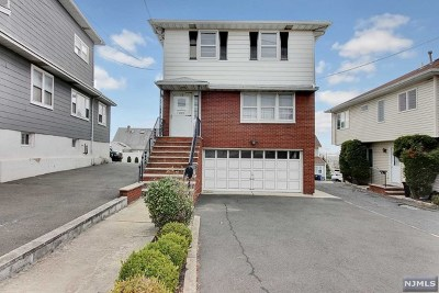 Carlstadt Single Family Home Under Contract: 521 Hackensack Street