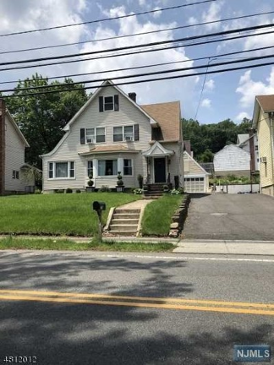 Hawthorne Single Family Home Under Contract: 782 Goffle Road