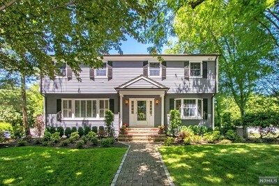 Demarest Single Family Home Under Contract: 19 Old Stable Road