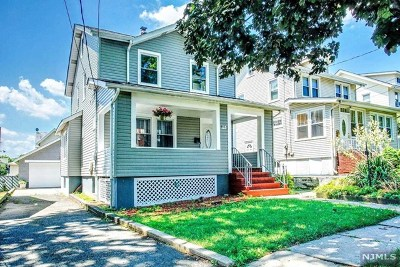 Bogota Single Family Home Under Contract: 184 Elmwood Avenue