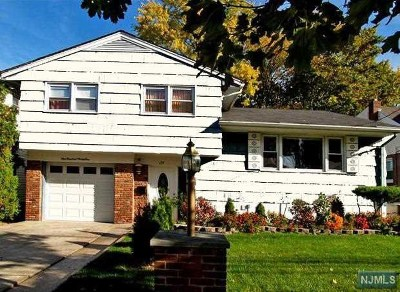 Bergenfield NJ Single Family Home Under Contract: $369,000