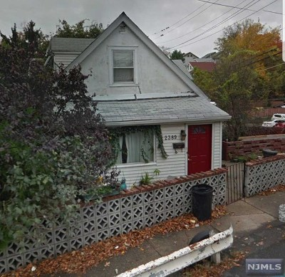 Fort Lee Single Family Home Under Contract: 2389 3rd Street