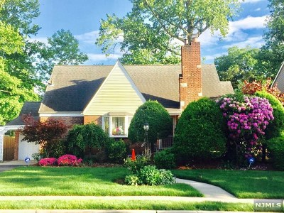 Bergenfield Single Family Home Under Contract: 164 East Church Street