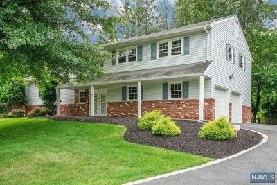 Bergen County Single Family Home Under Contract: 2 Lorraine Drive