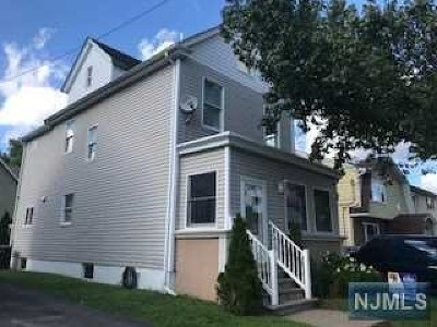 Passaic County Single Family Home Under Contract: 138 Hamilton Avenue
