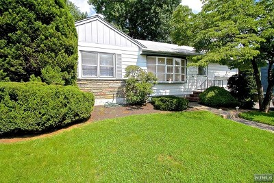 Fair Lawn Single Family Home Under Contract: 0-19 Yost Place