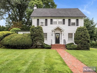 Glen Rock Single Family Home Under Contract: 396 Rock Road