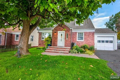 Bergenfield Single Family Home Under Contract: 51 Madison Avenue