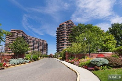Cliffside Park Condo/Townhouse Under Contract: 100 Winston Drive #17cn