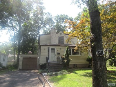 Wayne Single Family Home Under Contract: 58 Chestnut Drive
