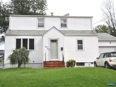 Bergenfield Single Family Home Under Contract: 65 Highland Avenue