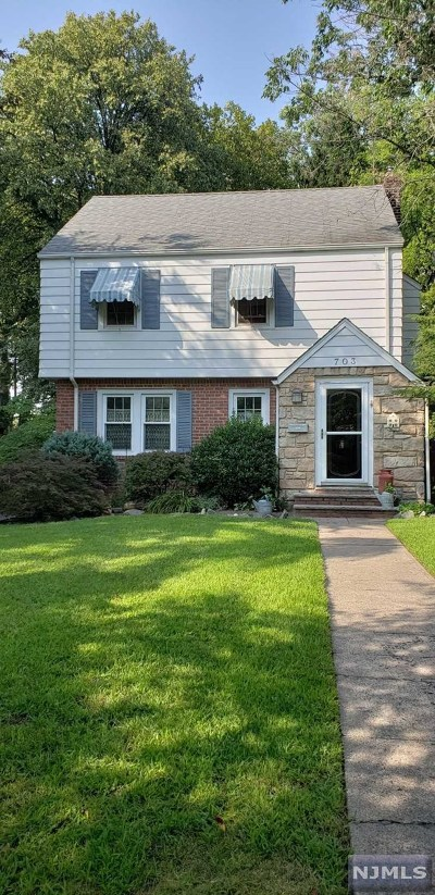 Teaneck Single Family Home Under Contract: 703 Ramapo Road