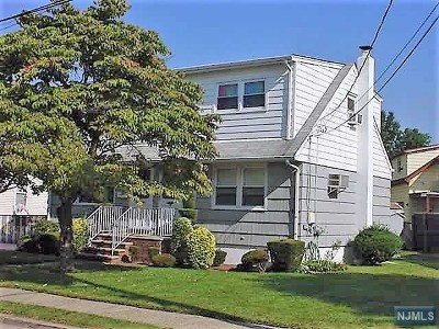 Elmwood Park Multi Family 2-4 Under Contract: 7 Oak Street