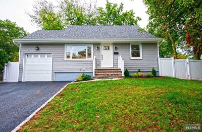 Bergenfield Single Family Home Under Contract: 15 Roosevelt Avenue