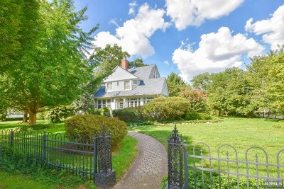 Essex County Single Family Home Under Contract: 282 Grant Avenue