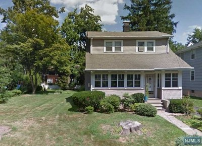 Tenafly Single Family Home Under Contract: 18 North Browning Avenue