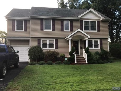 Fair Lawn Single Family Home Under Contract: 41 Wayne Road