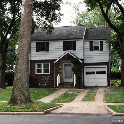 Hackensack Single Family Home Under Contract: 173 Ross Avenue