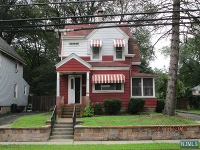 Wanaque Single Family Home Under Contract: 1160 Ringwood Avenue